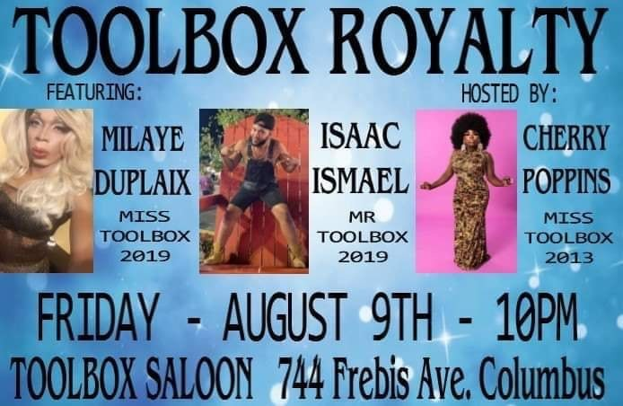 Ad | Toolbox Saloon (Columbus, Ohio) | 8/9/2019