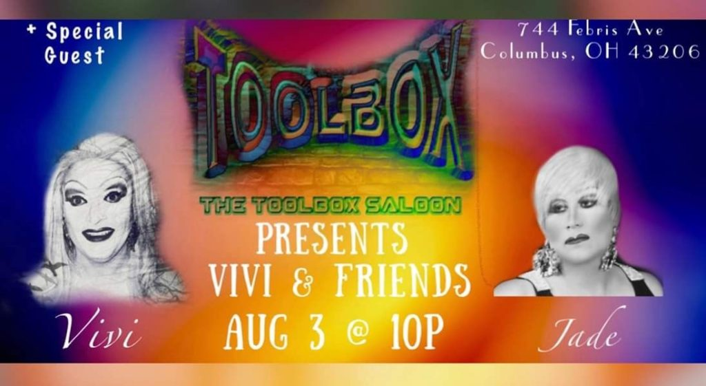 Ad | Toolbox Saloon (Columbus, Ohio) | 8/3/2019