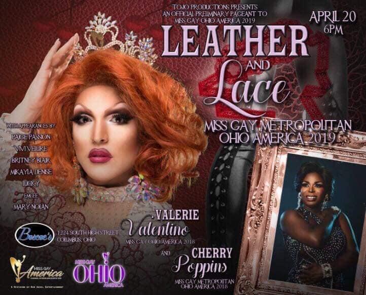 Show Ad | Miss Gay Metropolitan America | Boscoe's (Columbus, Ohio) | 4/20/2019