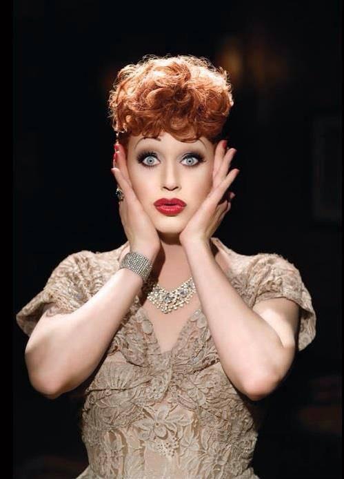 Shannel as Lucy Ricardo