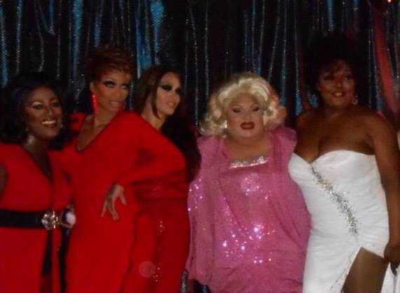 Angelica Sanchez, Tommie Ross, Sasha Colby, Carmella Marcella Garcia and Tiffany Arieagus