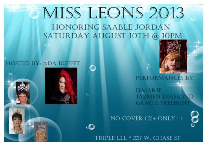 Miss Leons 2013 Pageant Ad