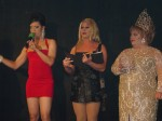 Andria Michaels, Missy Marlo, and Demanda Fortune at the Miss Gay Capital City USofA @ Large 2003 Pageant