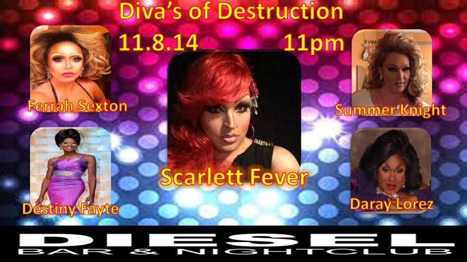 Show Ad   Diesel Bar & Nightclub (Springfield, Ohio)   11/18/2014