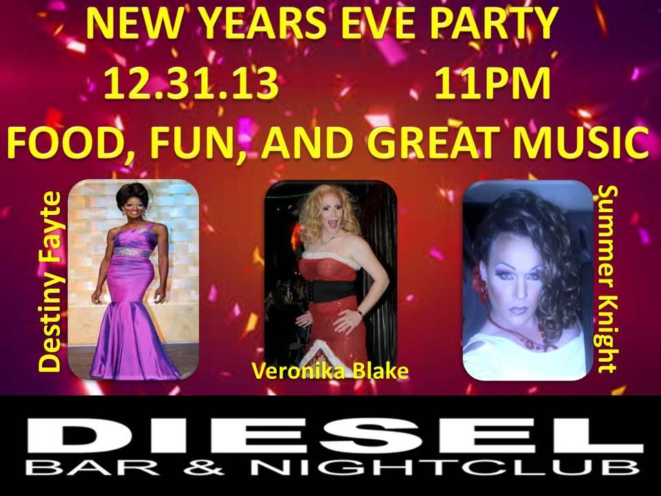 Show Ad   Diesel Bar & Nightclub (Springfield, Ohio)   12/31/2013