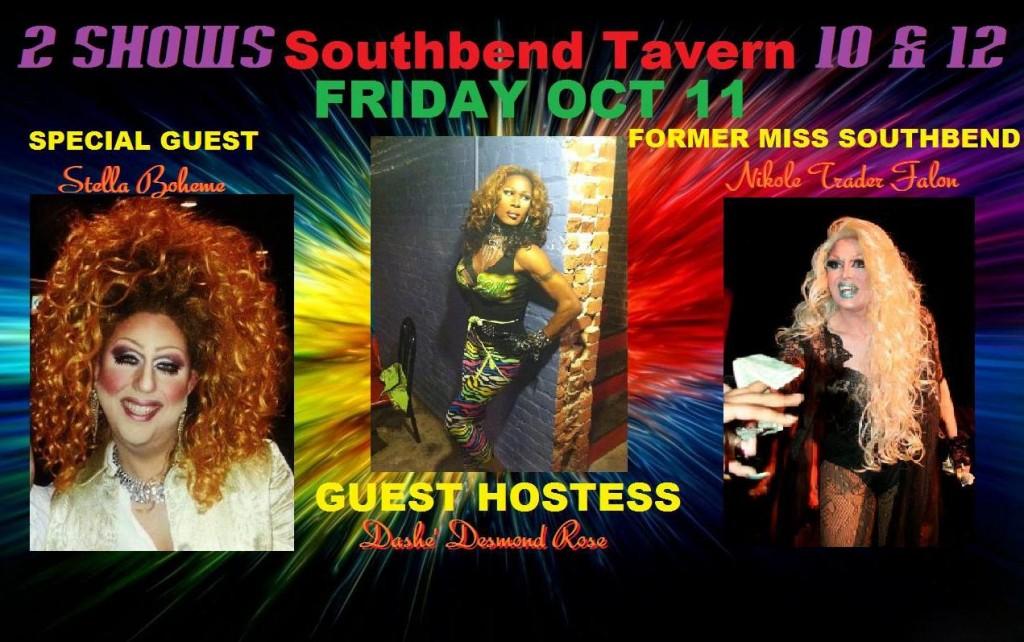 Show Ad | Southbend Tavern (Columbus, Ohio) | 10/11/2013