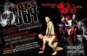 Show Ad | Wall Street Night Club (Columbus, Ohio) | 1/23/2013