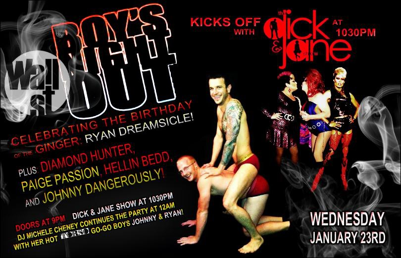 Show Ad | Wall Street Night Club (Columbus, Ohio) | 1/23/2013