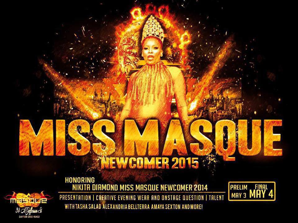 Show Ad | Masque Night Club (Dayton, Ohio) | 5/3-5/4/2015