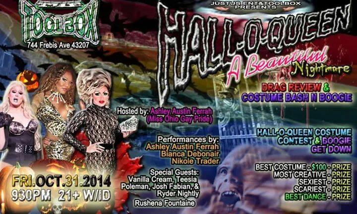 Show Ad   Toolbox Saloon (Columbus, Ohio)   10/31/2014
