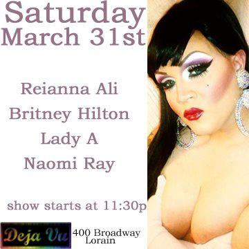 Show Ad | Deja Vu (Lorain, Ohio) | 3/31/2012
