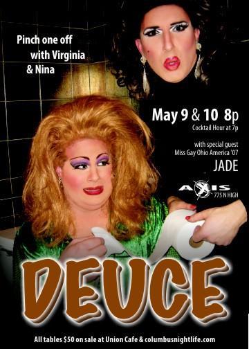 Show Ad | Axis Night Club (Columbus, Ohio) | 5/9 & 5/10/2008