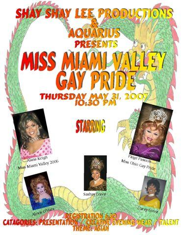 Miss Miami Valley Gay Pride | Club Aquarius (Dayton, Ohio) | 5/31/2007
