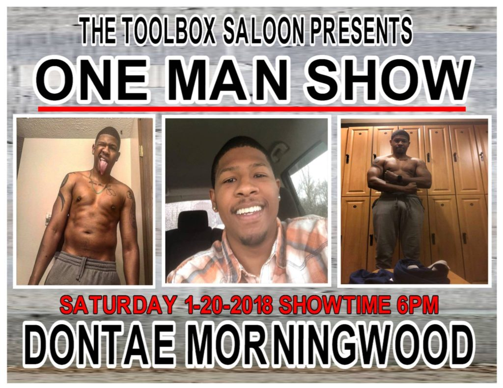 Show Ad | Toolbox Saloon (Columbus, Ohio) | 1/20/2018