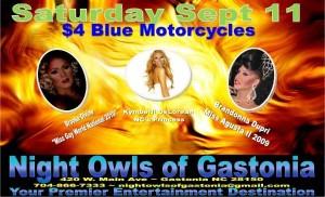 Show Ad | Night Owl Night Club (Gastonia, North Carolina) | 9/11/2010