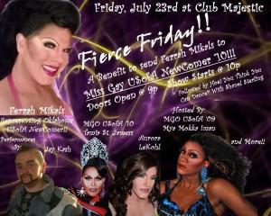 Show Ad | Club Majestic (Tulsa, Oklahoma) | 7/23/2010