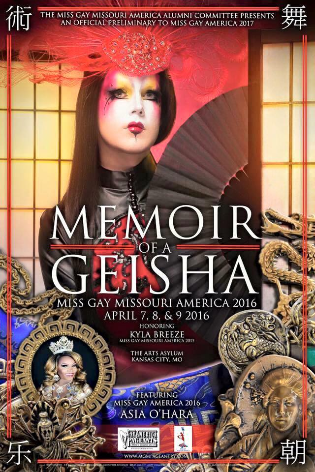 Show Ad | Miss Gay Missouri America | The Arts Asylum (Kansas City, Missouri) | 4/7-4/9/2016