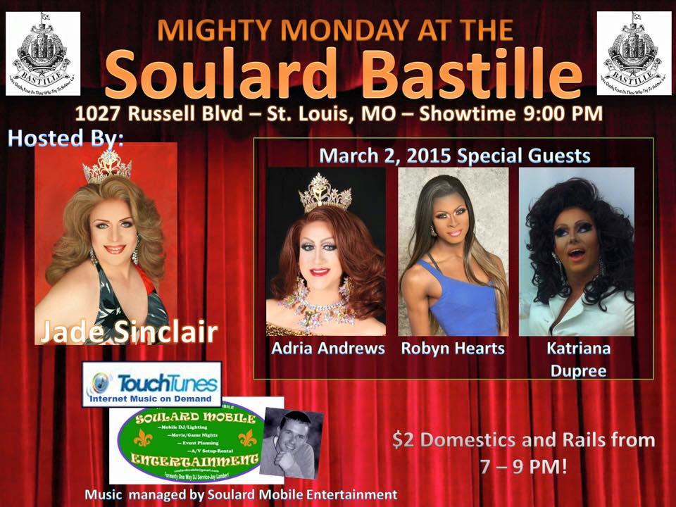 Show Ad   Soulard Bastille (St. Louis, Missouri)   3/2/2015
