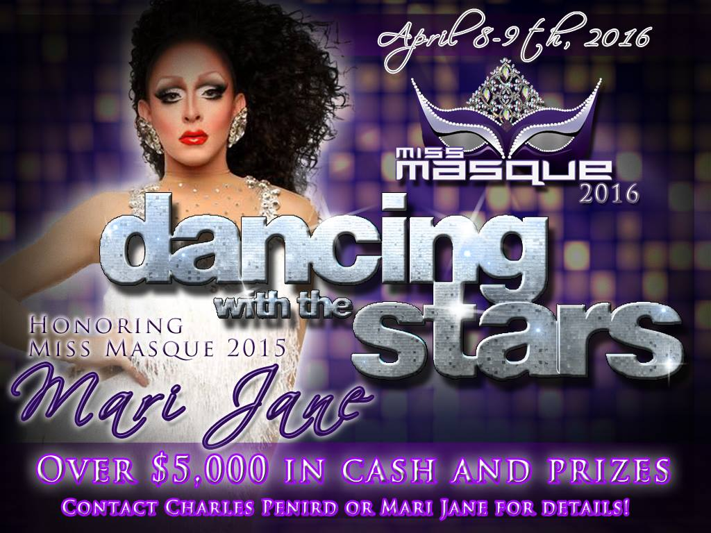 Show Ad | Miss Masque | Masque (Dayton, Ohio) | 4/8-4/9/2016