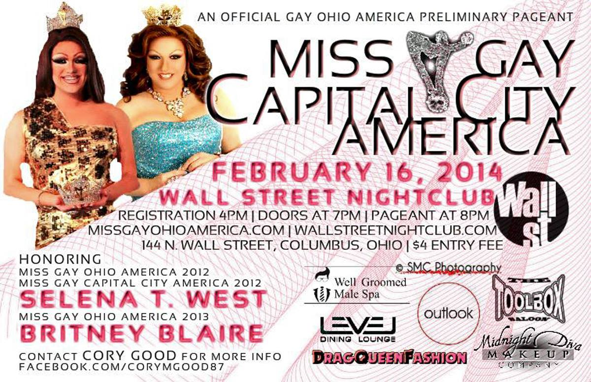 Show Ad | Wall Street Night Club (Columbus, Ohio) | 2/16/2014