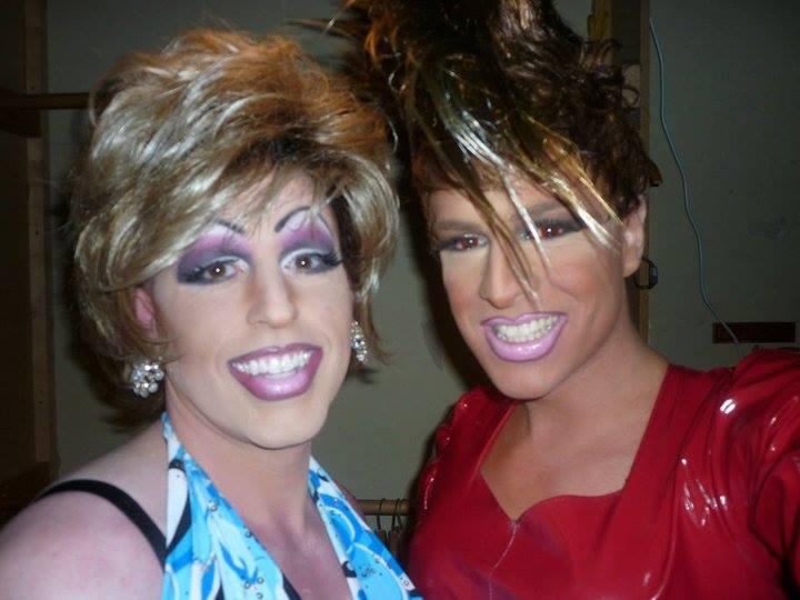 Alli Katt and RIley Morgan. Circa 2011.