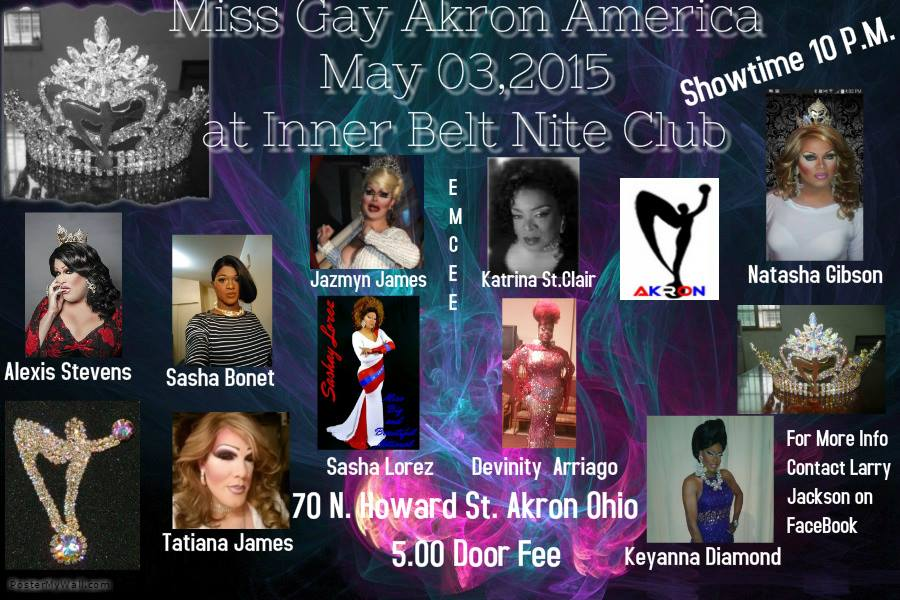 Show Ad | Interbelt Nite Club (Akron, Ohio) | 5/3/2015