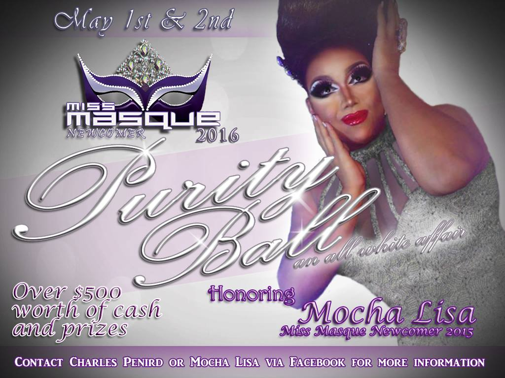 Show Ad | Miss Masque Newcomer | Masque (Dayton, Ohio) | 5/1-5/2/2016