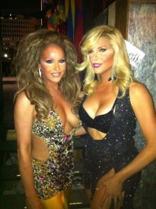 Erica Andrews and Candis Cayne