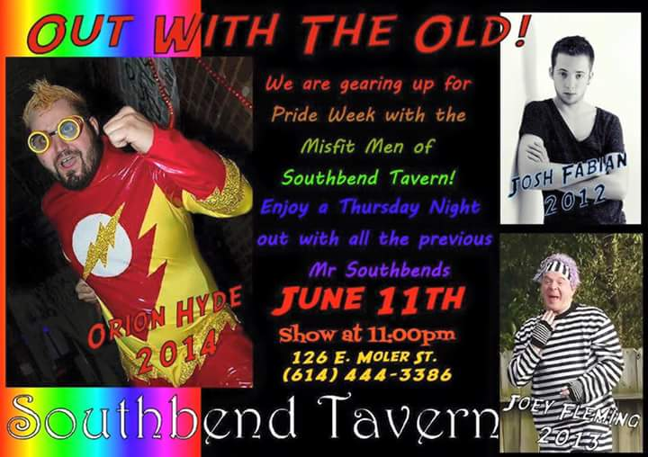 Show Ad | Southbend Tavern (Columbus, Ohio) | 6/11/2015