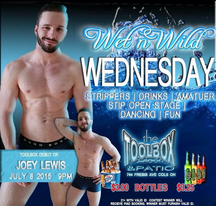 Show Ad | Toolbox Saloon (Columbus, Ohio) | 7/8/2015