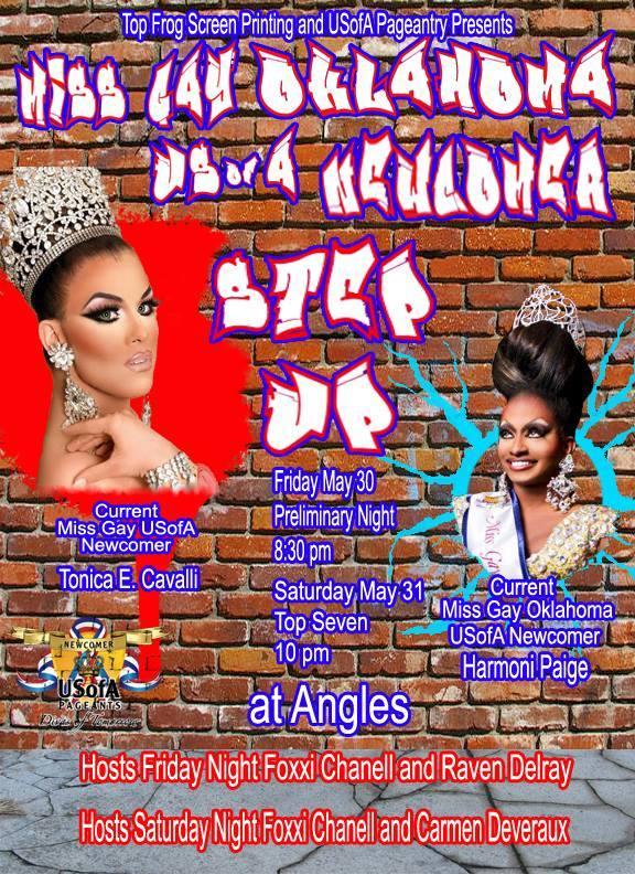 Show Ad | Miss Gay Oklahoma USofA Newcomer | Angles (Oklahoma City, Oklahoma) | 5/30/2014