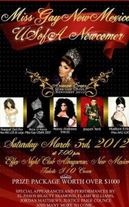 Show Ad   Miss Gay New Mexico USofA Newcomer   3/3/2012