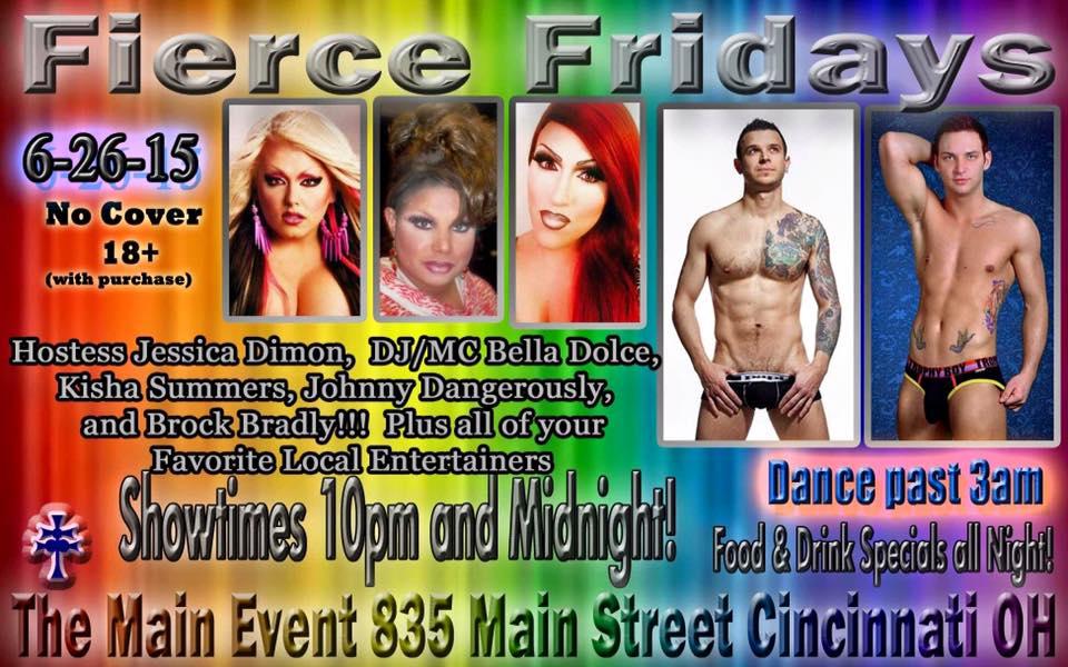 Show Ad | Main Event (Cincinnati, Ohio) | 6/26/2015