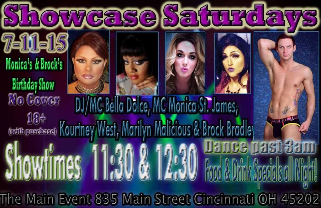 Show Ad | Main Event (Cincinnati, Ohio) | 7/11/2015