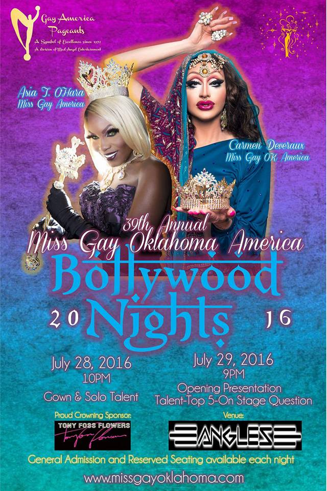 Show Ad | Miss Gay Oklahoma America | Angles (Oklahoma City, Oklahoma) | 7/28-7/29/2016