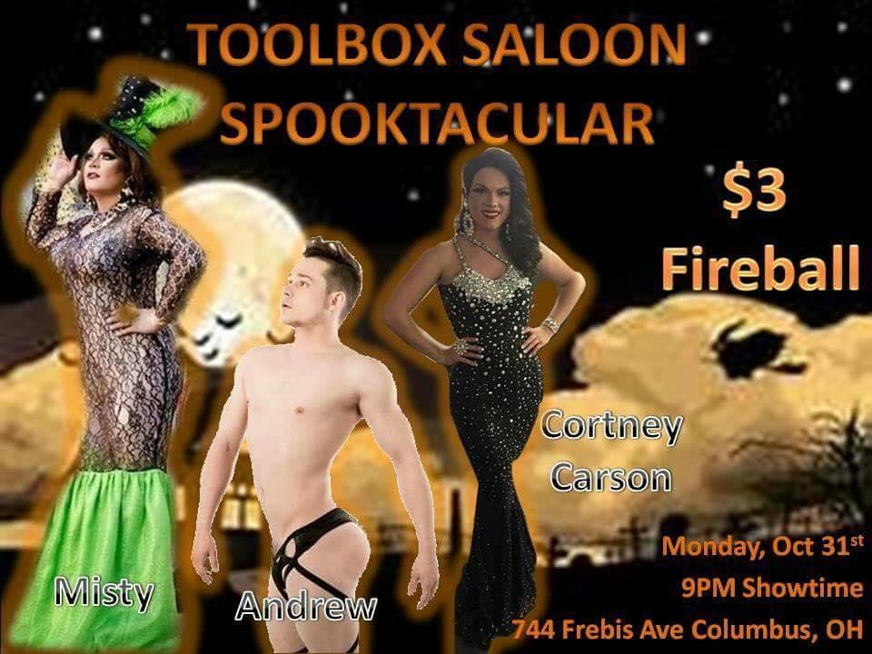 Show Ad   Toolbox Saloon (Columbus, Ohio)   10/31/2016
