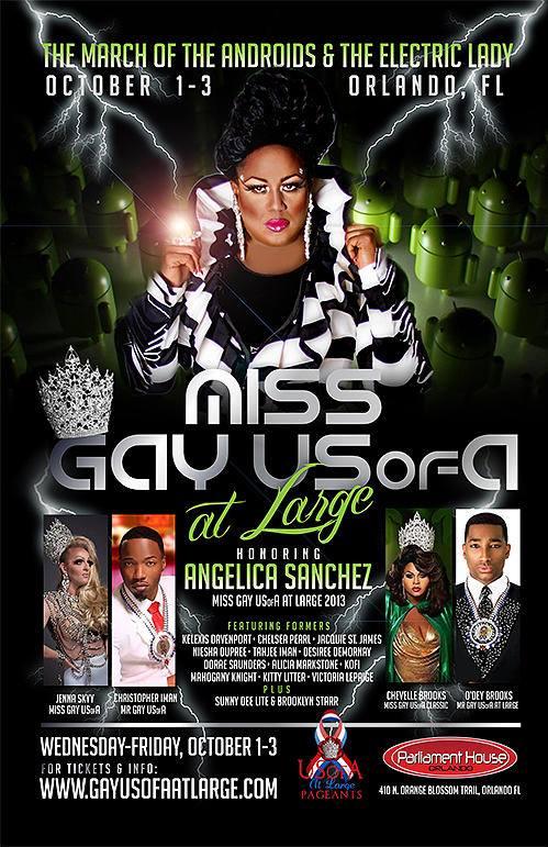 Show Ad | Miss Gay USofA at Large | Parliament House (Orlando, Florida) | 10/1-10/3-2014