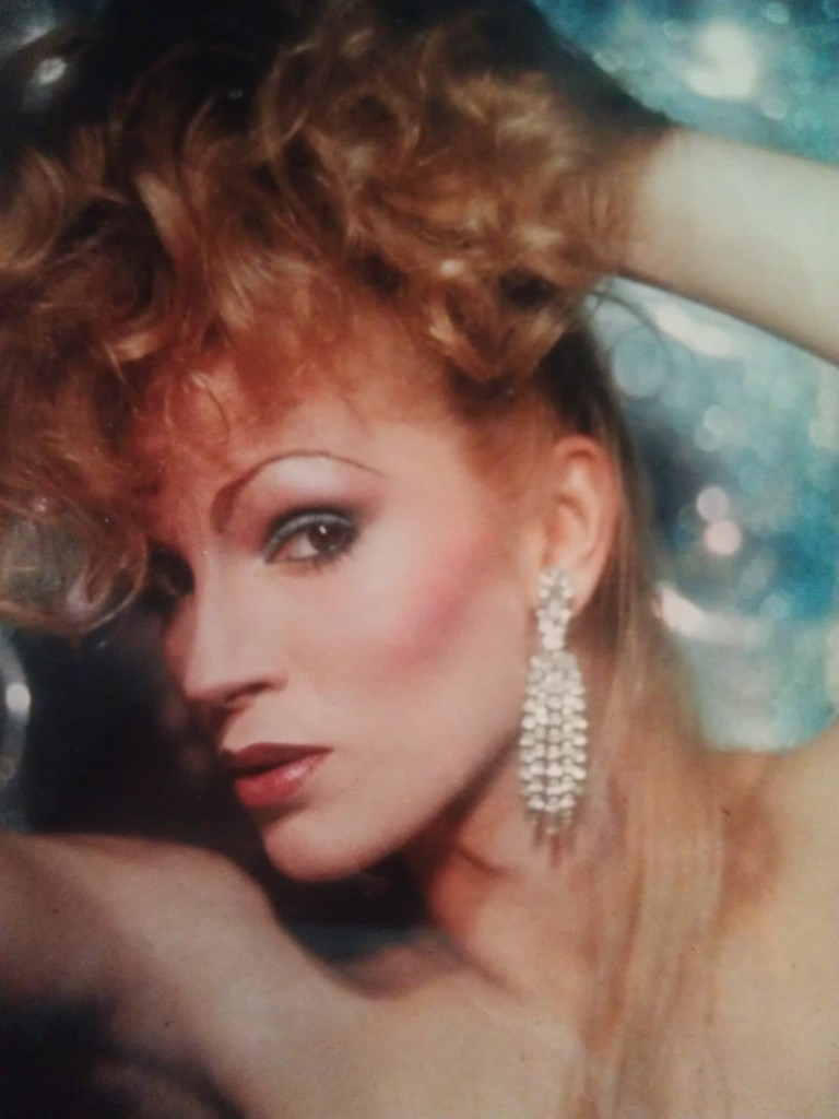 Dana Douglas - Photo by R.J. Fink and taken on her first Texas tour as Miss Florida 1982.