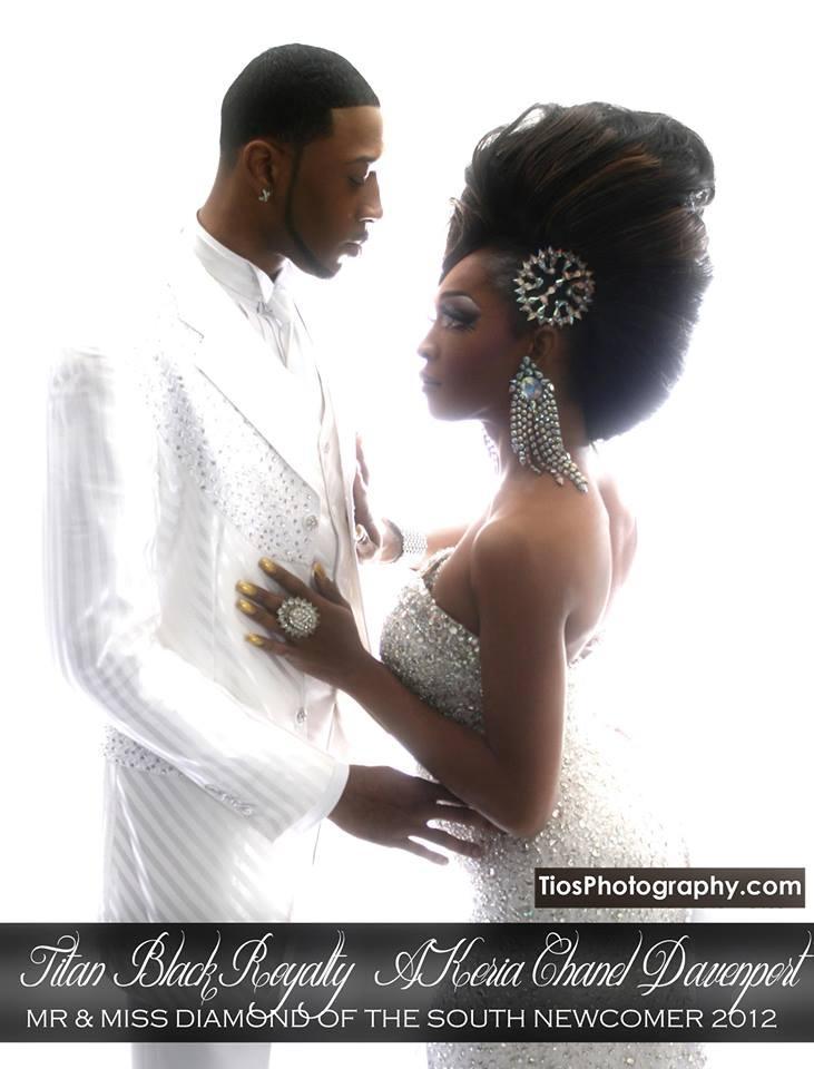 Titan Black Royalty and A'Keria Chanel Davenport - Photo by Tios Photography