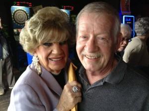 Bonnie Blake and Jim Hawkins