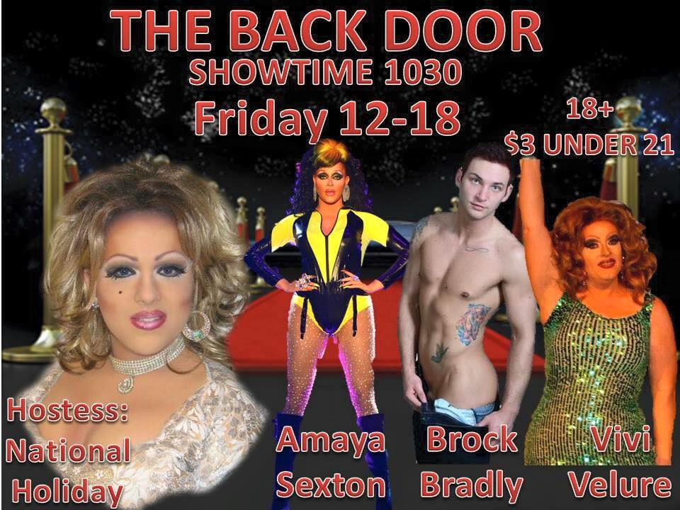 Show Ad | Back Door (Columbus, Ohio) | 12/18/2015