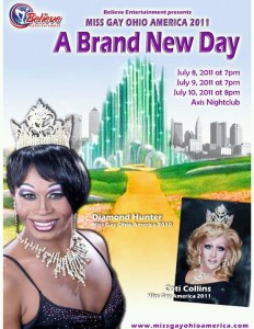 Show Ad | Miss Gay Ohio America | Axis Nightclub (Columbus, Ohio) | 7/8-7/10/2011