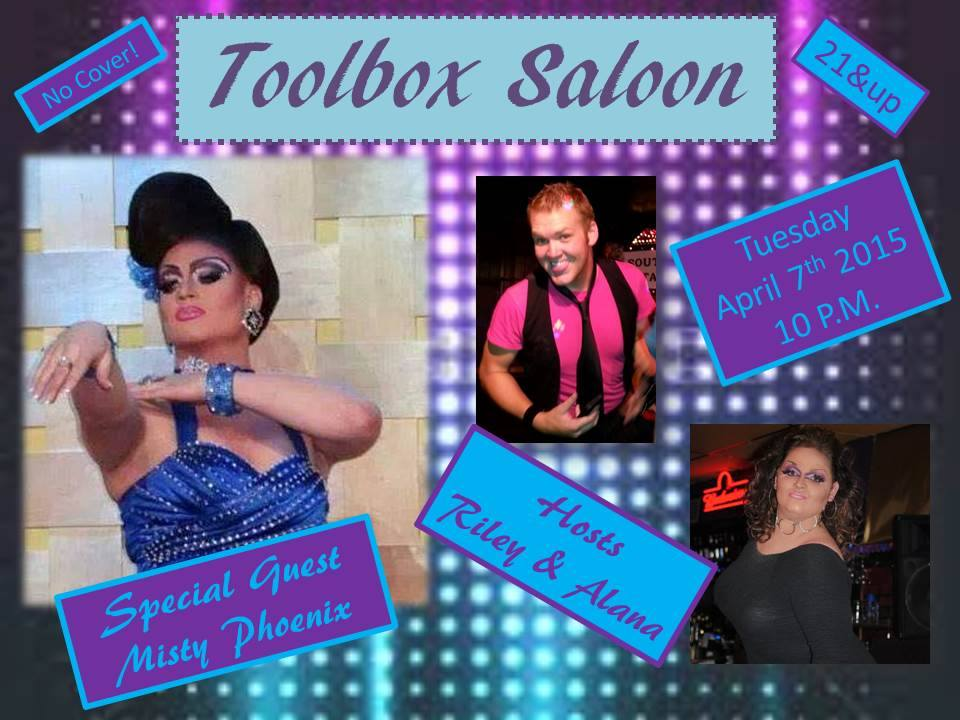 Show Ad | Toolbox Saloon (Columbus, Ohio) | 4/7/2015
