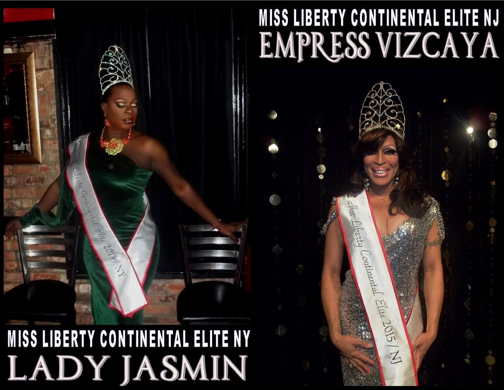 Lady Jasmin and Empress Vizcaya | Miss Liberty Continental Elite 2015
