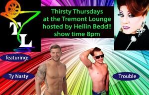 Show Ad   Tremont Lounge (Columbus, Ohio)   3/10/2016