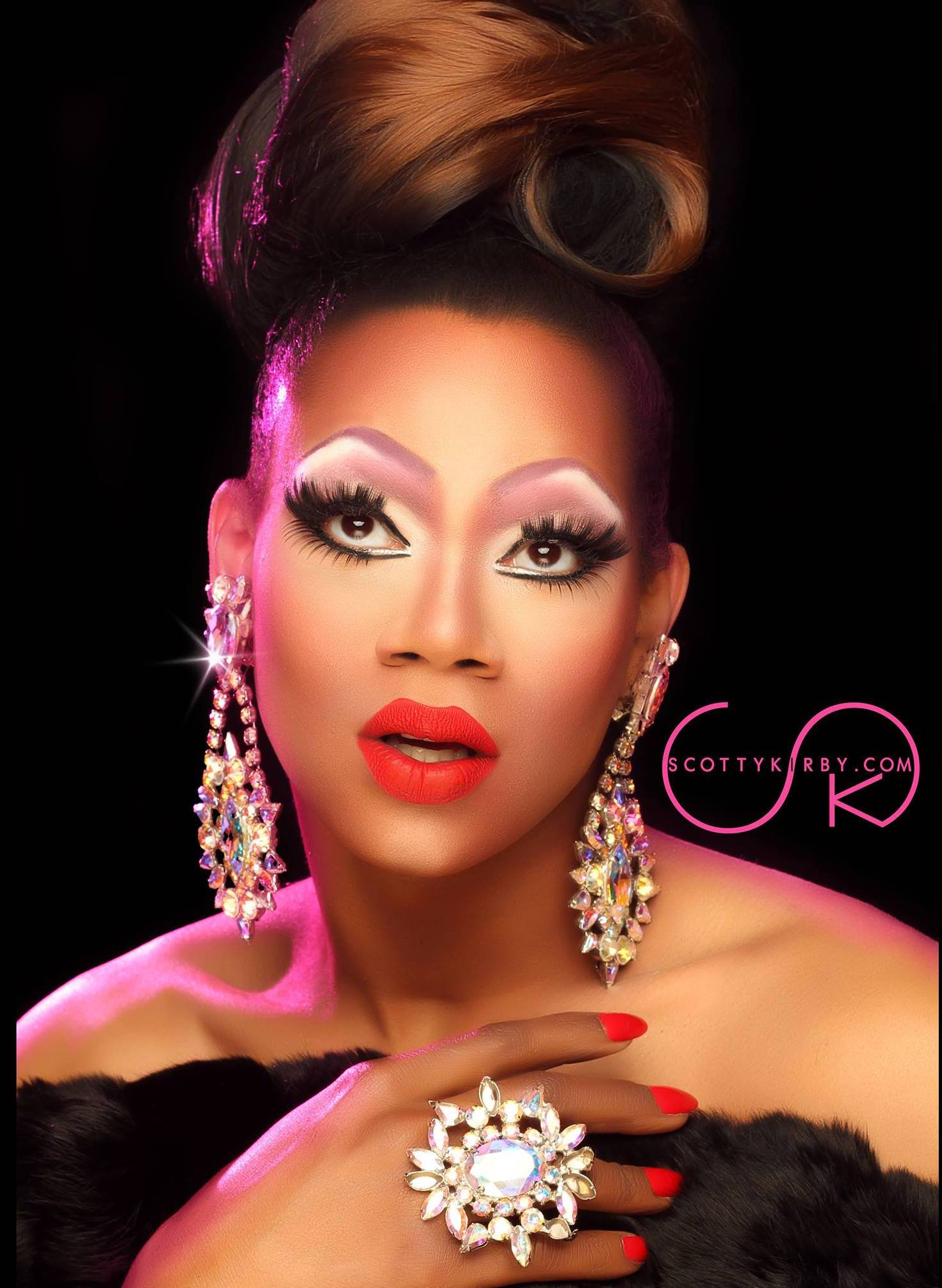 Chi Chi DeVayne - Photo by Scotty Kirby