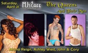 Show Ad   MJ's Cafe (Dayton, Ohio)   4/21/2012