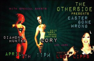 Show Ad | The Other Side (Parkersburg, West Virginia) | 4/7/2012