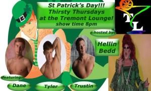 Show Ad | Tremont Lounge (Columbus, Ohio) | 3/17/2016