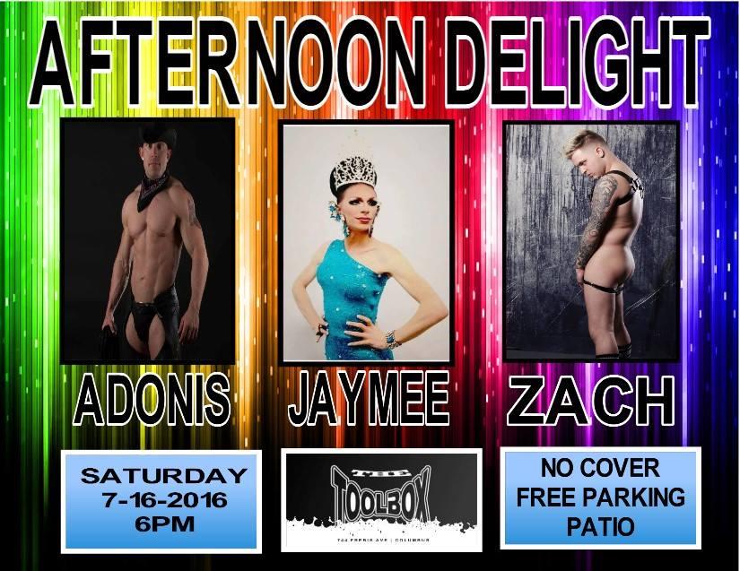 Show Ad | Toolbox Saloon (Columbus, Ohio) | 7/16/2016